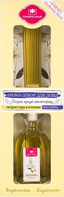 Арома-диффузор CRISTALINAS Mikado для жилых помещений с ароматом жасмина и белых цветов 180 мл