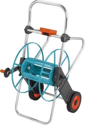 Тележка для шланга Gardena 100 2674-20 катушка для шлангов настенная автоматическая gardena 08023 20 000 00 25