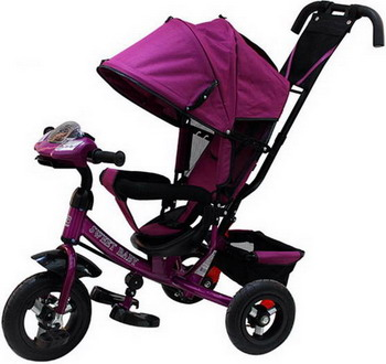 Велосипед Sweet Baby Mega Lexus Trike Violet (10/12 Air Music bar) велосипед для малыша liko baby lexus lb 778 red