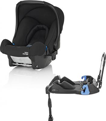 Автокресло Britax Roemer Baby-Safe Cosmos Black Trendline база ременная 2000031365 britax roemer база для автокресла baby safe isofix plus