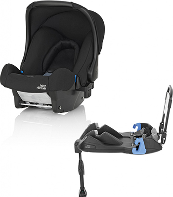 Автокресло Britax Roemer Baby-Safe Cosmos Black Trendline база ременная 2000031365 автокресло britax roemer baby safe2 i size moonlight blue trendline 2000029699