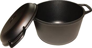 Казан Helper GURMAN с крышкой-сковородой 5 л GN 4550 казан с крышкой сковородой vari litta l90005 5 л
