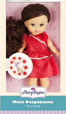 Кукла Mary Poppins «Мисс Очарование» с крас. браслетом 451214 spa программа мисс очарование