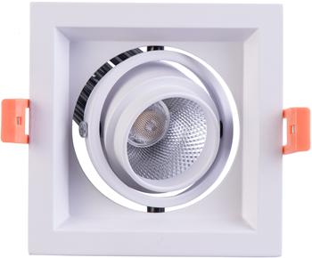 Светильник встроенный DeMarkt Круз 637016101 7*1W LED 220 V 12v 1w led spotlight green