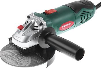 Угловая шлифовальная машина (болгарка) Hammer Flex USM 650 LE угловая шлифовальная машина болгарка hammer usm 850 a 159 018