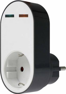 Фильтр сетевой SCHWABE FLASH 1 розетка 230В 16 A 3500Вт 18611 AS цена