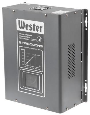 все цены на Стабилизатор напряжения WESTER STW 5000 NS