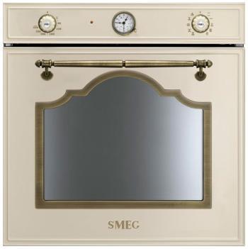 Встраиваемый электрический духовой шкаф Smeg SF 750 PO электрический духовой шкаф smeg sf700po