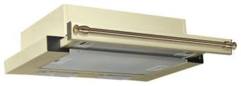Встраиваемая вытяжка Teka LS 60 BEIGE/BRASS вытяжка teka ls 60 white glass