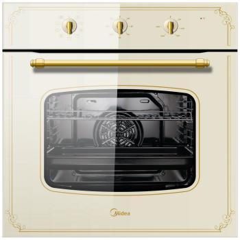 Встраиваемый электрический духовой шкаф Midea 65 DME 40003 электрический шкаф midea 65dme40101 бежевый