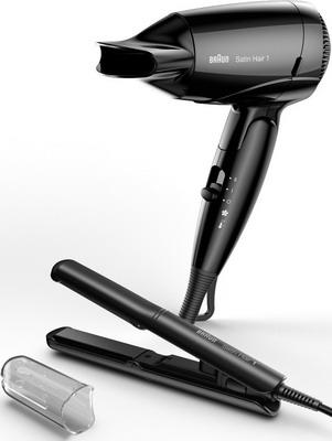 Щипцы для укладки волос BRAUN ST 100 + фен HD 130 Satin Hair 1 фен braun hd 180 satin hair1 1800вт белый