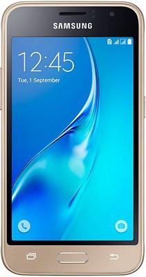 Мобильный телефон Samsung Galaxy J1 (2016) SM-J 120 F/DS золотистый цена и фото
