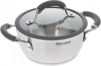 Кастрюля Rondell RDS-753 Balance ковш rondell stern rds 008 1 9л 16см стеклянная крышка нержавеющая сталь черный