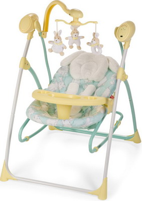 Электрокачели Happy Baby Luffy YELLOW