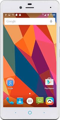 Мобильный телефон ZTE Blade A 476 белый мобильный телефон zte blade r550 black blue