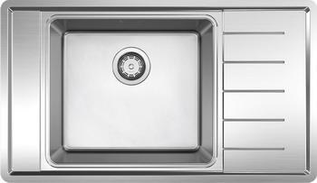 Кухонная мойка BLANCO ANDANO XL 6S-IF Compact нерж.сталь с зеркальной полировкой чаша слева 15 industrial panel pc capacitive touchscreen core i3 cpu 4g ddr3 ram 500gb hdd all in one computer 15 inch hmi