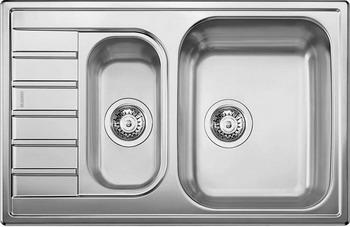 Кухонная мойка BLANCO LIVIT 6 S Compact нерж. сталь полированная кухонная мойка blanco livit 6 s centric нерж сталь полированная с клапаном автоматом