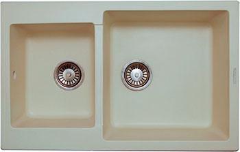 Кухонная мойка LAVA D.3 (CREMA) декор keraben velvet d cor bloom crema set2 60x90