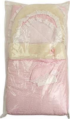 Конверт Арго Зима 8 предметов пл.300  Розовый арго комплект на выписку арго 8 пред лето синтепон пл 100 розовый