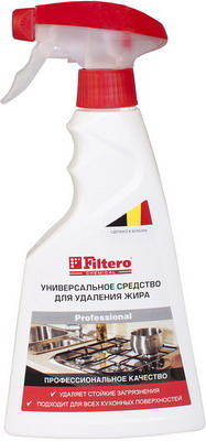 Средство для удаления жира универсальное Filtero 511 бытовая химия sodasan мыло твердое для удаления пятен в холодной воде 100 г