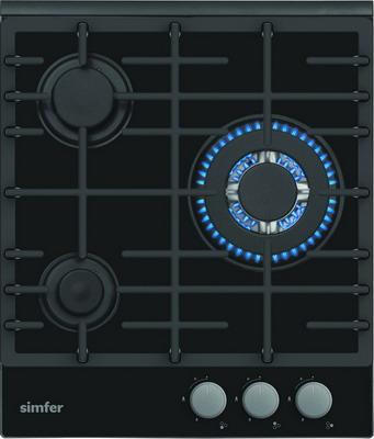 цены Встраиваемая газовая варочная панель Simfer H 45 L 35 B 511