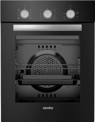 Встраиваемый электрический духовой шкаф Simfer B4ES 18011 встраиваемый газовый духовой шкаф simfer b6gm12011
