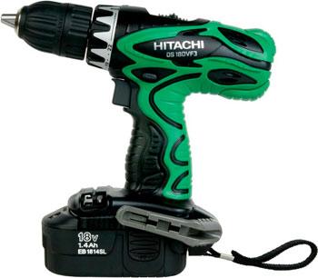 Дрель-шуруповерт Hitachi DS 18 DVF3 цена