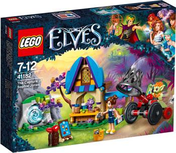 Конструктор Lego ELVES ПОХИЩЕНИЕ СОФИ ДЖОНС 41182 809pcs elves skyra s mysterious sky castle model building block toys enlighten 10415 gift for children compatible legoe 41708