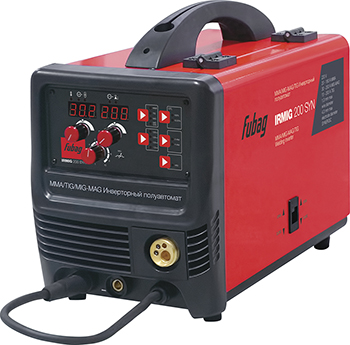 Сварочный полуавтомат FUBAG IRMIG 200 SYN горелка FB 250 38643 1 горелка energy gs 200