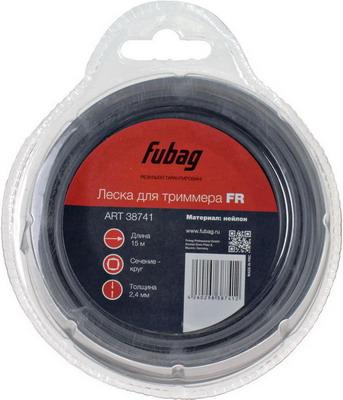 Леска FUBAG L 15 м * 2.4 мм 38741 2 pcs new laptop cpu cooling fan for hp 15 5016tx 15 5014tx l
