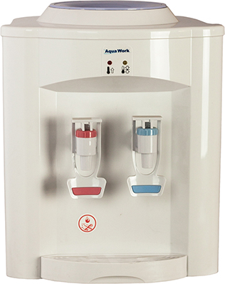 Кулер для воды Aqua Work 720Т (белый) кулеры для воды aqua work кулер для воды aqua work36tdn белый эл охл нажим кружкой