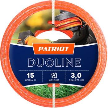 Леска Patriot Duoline 300-15-6 805401171 снегоуборщик patriot сибирь 60 6 5л с [426108600]