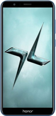 Мобильный телефон Honor 7X 64 Gb синий мобильный телефон lg g flex 2 h959 5 5 13 32 gb 2 gb gps wcdma wifi