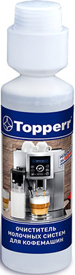Моющее средство для молочных систем кофемашин Topperr 3041 250 мл спрей topperr для очистки холодильников и морозильных камер 500 мл