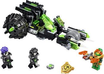 Конструктор Lego Nexo Knights: Боевая машина близнецов 72002 lepin 14022 nexo knights axl axls tower carrier 704pcs building block educational toys for children compatible legoe
