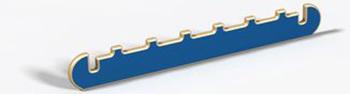 Узкий элемент с зубьями игрового детского контруктора-транформера, (древесный, красный, зеленый, синий, желтый) Hotnok серии ''Архитектор'' ArchP-5 жен ожерелья с подвесками мода перо красный синий темно зеленый 35cm ожерелье назначение праздники для улицы
