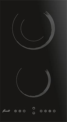 Встраиваемая электрическая варочная панель FORNELLI PVA 30 ORSA BL цена и фото