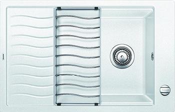 Кухонная мойка BLANCO ELON XL 6S SILGRANIT белый с клапаном-автоматом inFino 524838 кухонная мойка blanco adon xl 6s silgranit белый с клапаном автоматом
