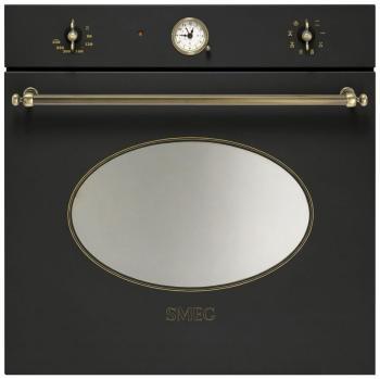 Встраиваемый электрический духовой шкаф Smeg SFT 805 AO встраиваемый электрический духовой шкаф smeg sf 750 ao