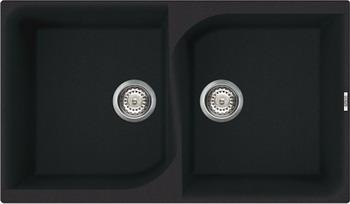 Кухонная мойка Elleci EGO 450  granitek (40) full black LGE 45040 мойка кухонная elleci ego 480 1000x500 granitek 62 lge48062