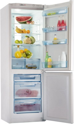 Двухкамерный холодильник Позис RK FNF-170 белый двухкамерный холодильник позис rk 101 серебристый металлопласт