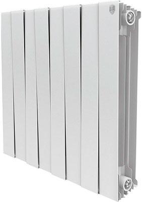 Водяной радиатор отопления Royal Thermo PianoForte 500/Bianco Traffico - 8 секц.