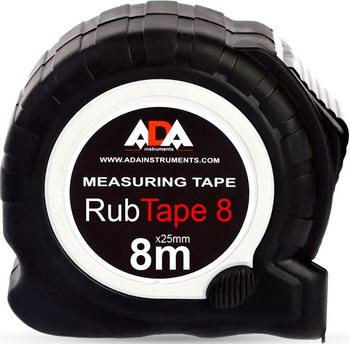 Измерительная рулетка ADA RubTape 8 строительный уровень ada titan 60 plus