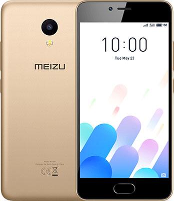 Мобильный телефон Meizu M5c 16 Gb золотистый мобильный телефон meizu pro7 plus 64 gb amber gold
