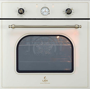Встраиваемый электрический духовой шкаф Lex EDM 073 C IV встраиваемый электрический духовой шкаф smeg sf 4120 mcn