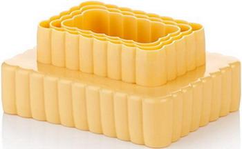 Двухсторонние формочки Tescoma DELICIA 6 размеров 630863 двухсторонние формочки печенье delcia 6 размеров