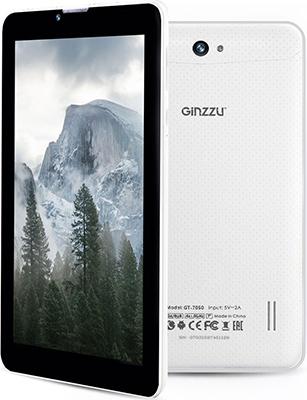 Планшет Ginzzu GT-7050 (белый) планшет ginzzu gt x770 black mtk8735m 1