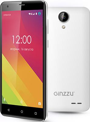 Мобильный телефон Ginzzu S 5510 белый ginzzu s5050