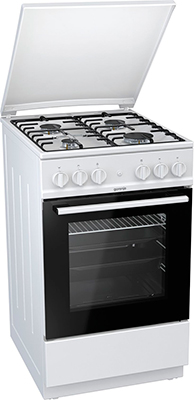 Газовая плита Gorenje GI 5121 WH  плита кухонная gorenje gi 632e35 wkb