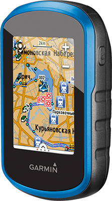 Навигатор Garmin Etrex Touch 25 GPS/Глонасс Russia (черно-синий) skylarpu df1624v1 fpc 1 lcds for garmin etrex touch 35t handheld gps lcd display screen with touch screen digitizer replacement